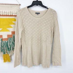 Market & Spruce Stitch Fix Textured Knit Sweater L